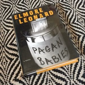 "SIGNED Elmore Leonard novel ""Pagan Babies"""